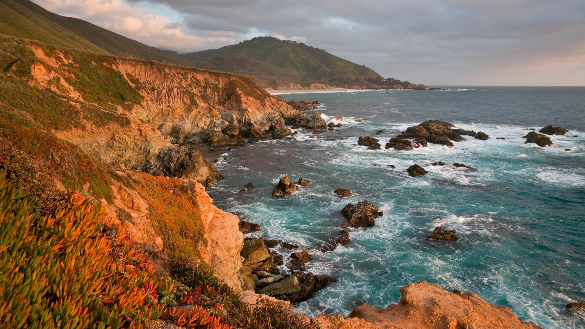 Beautiful California Seacoast HD wallpapers