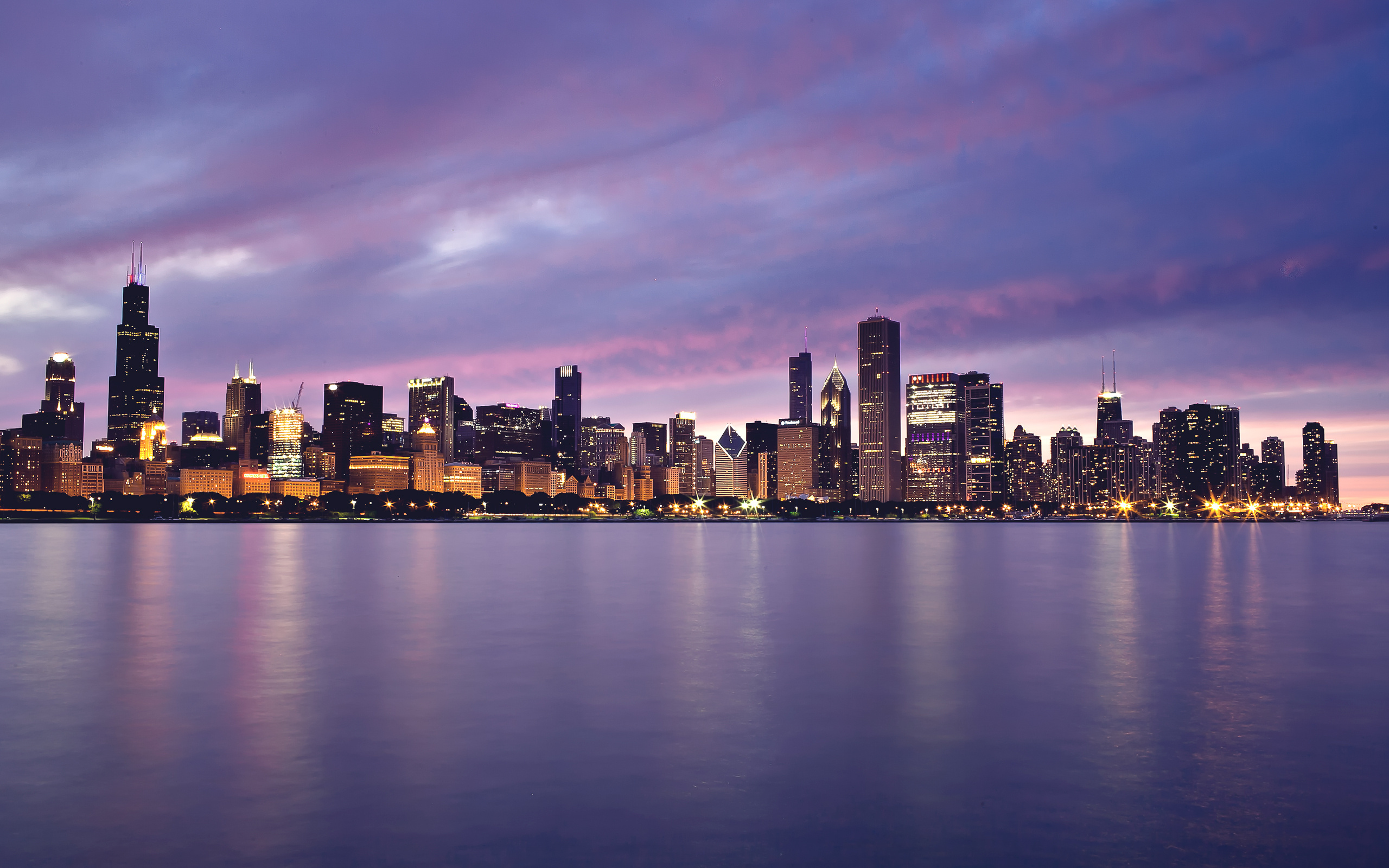 Beautiful Chicago Background