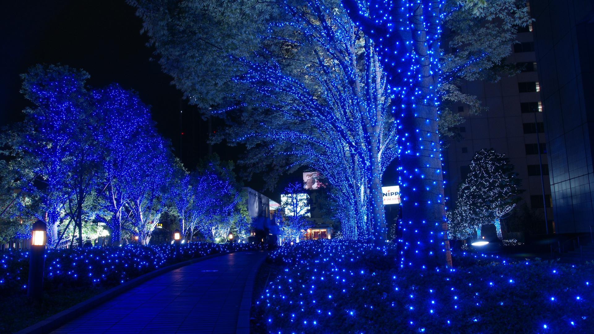 Beautiful Christmas Lights Wallpaper