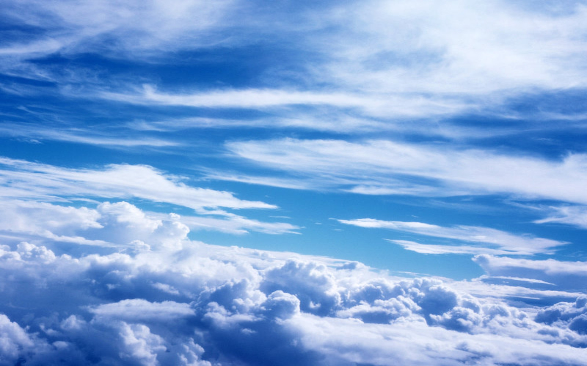 Beautiful Cloud Background