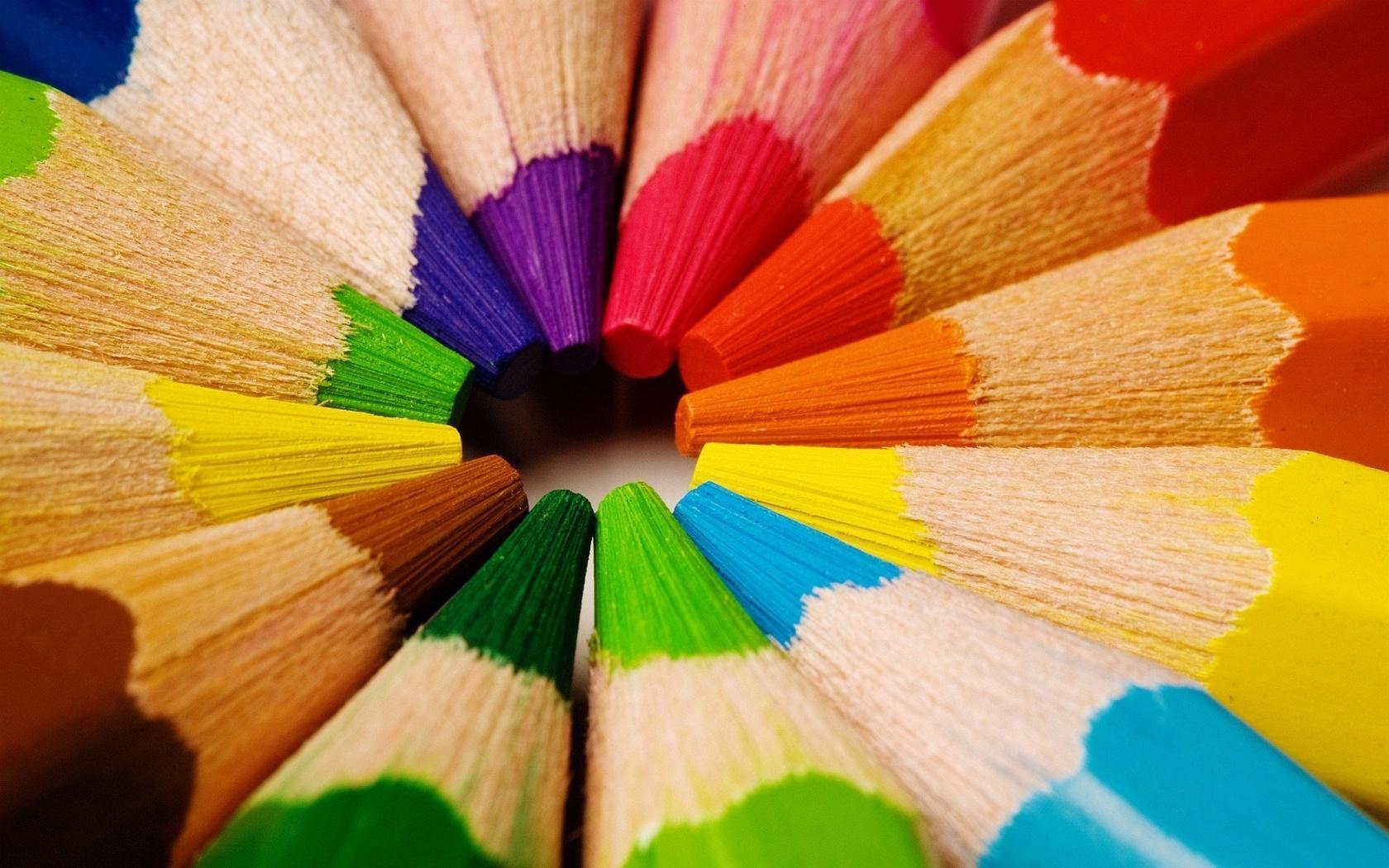 Beautiful Colored Pencils Wallpaper