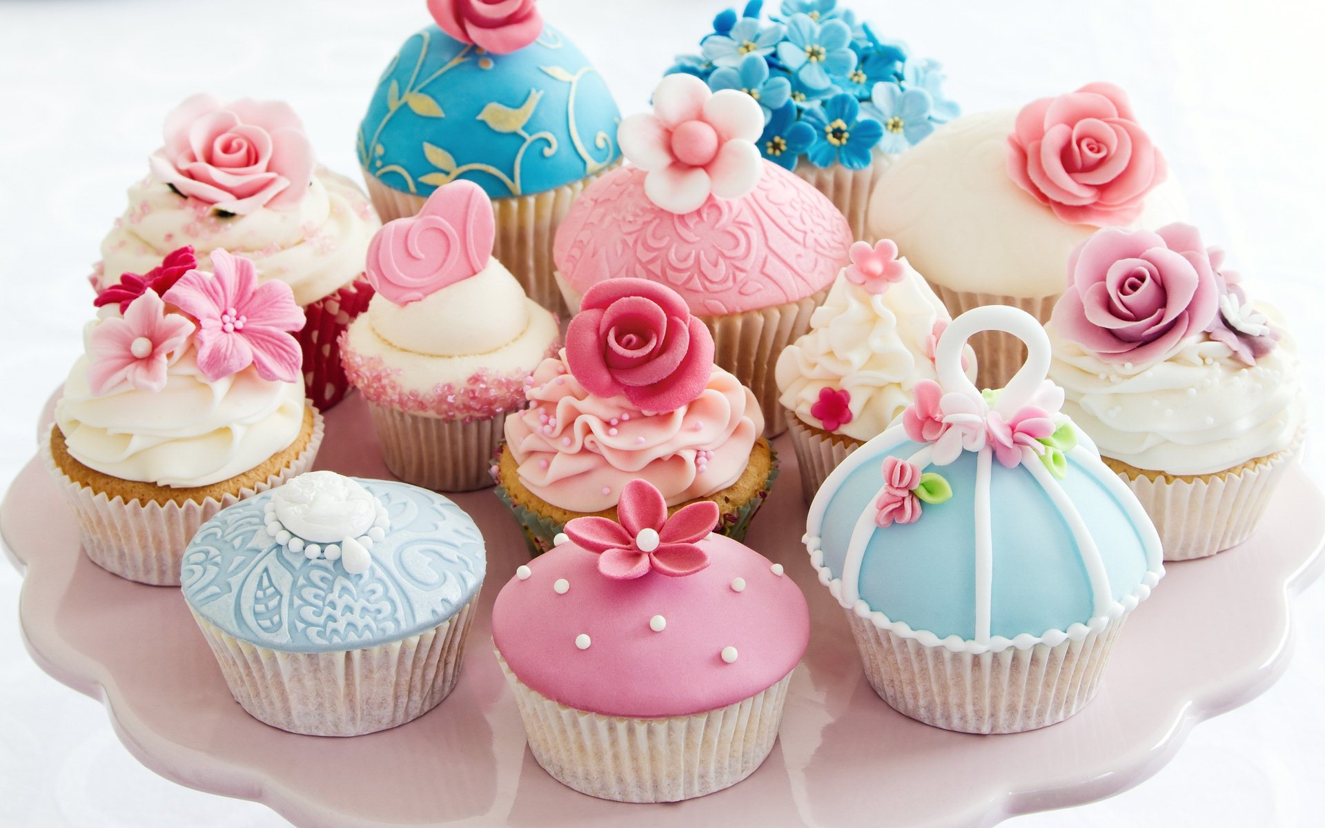 Beautiful Cupcake Wallpaper