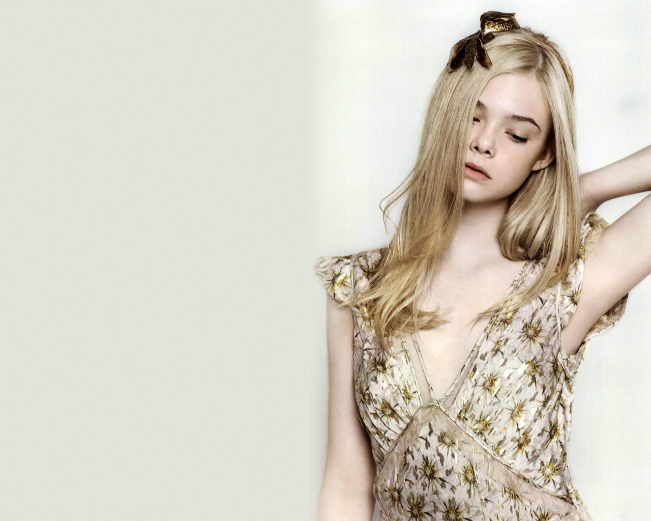 Elle Fanning Beautiful Girl