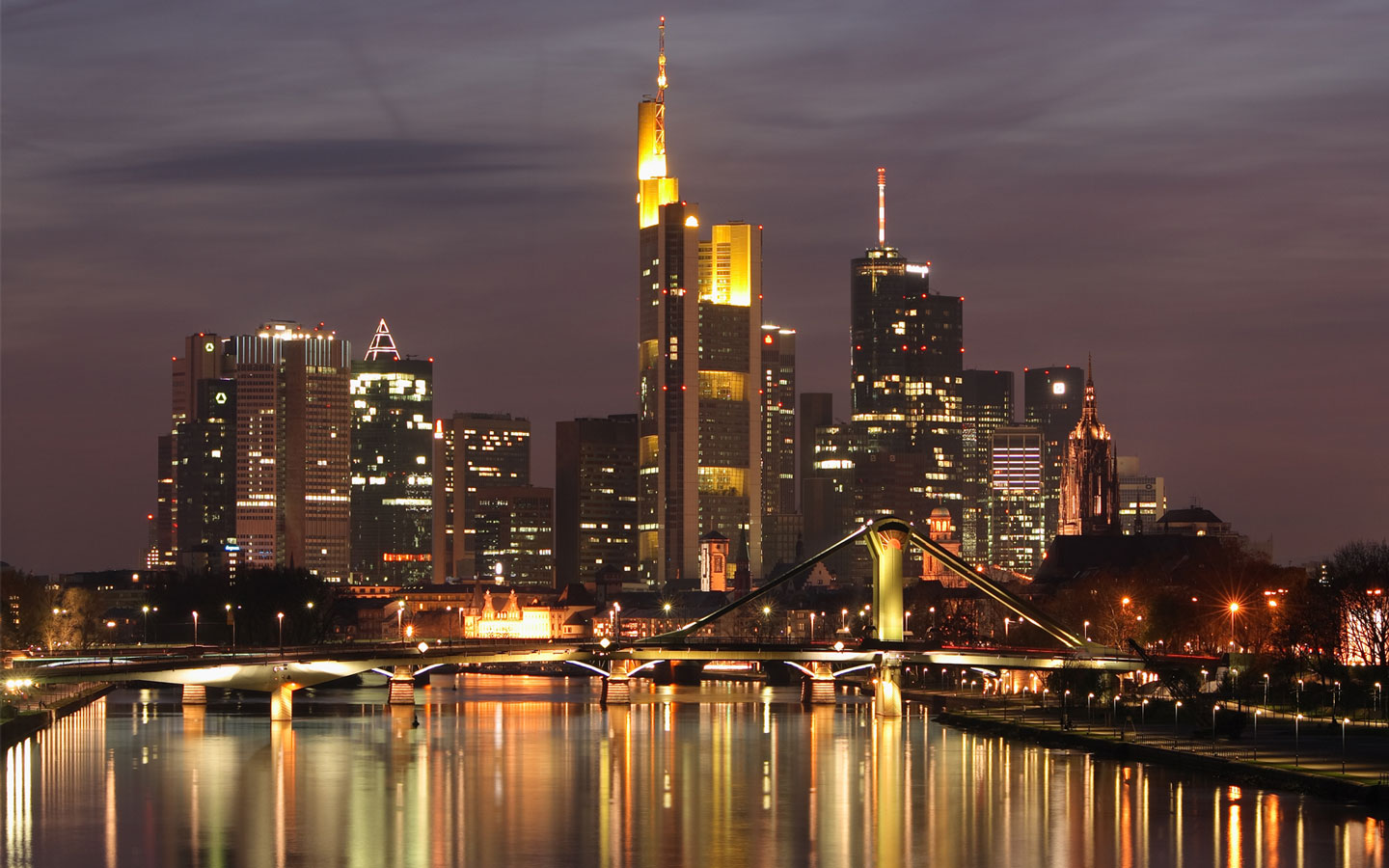 Beautiful Frankfurt Wallpaper
