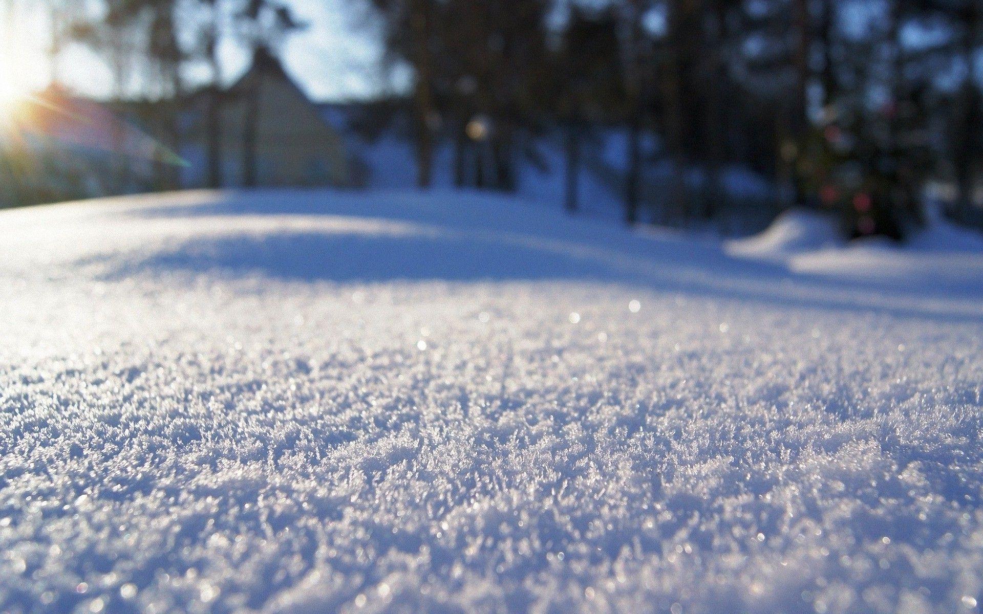 Beautiful Fresh Snow Wallpaper