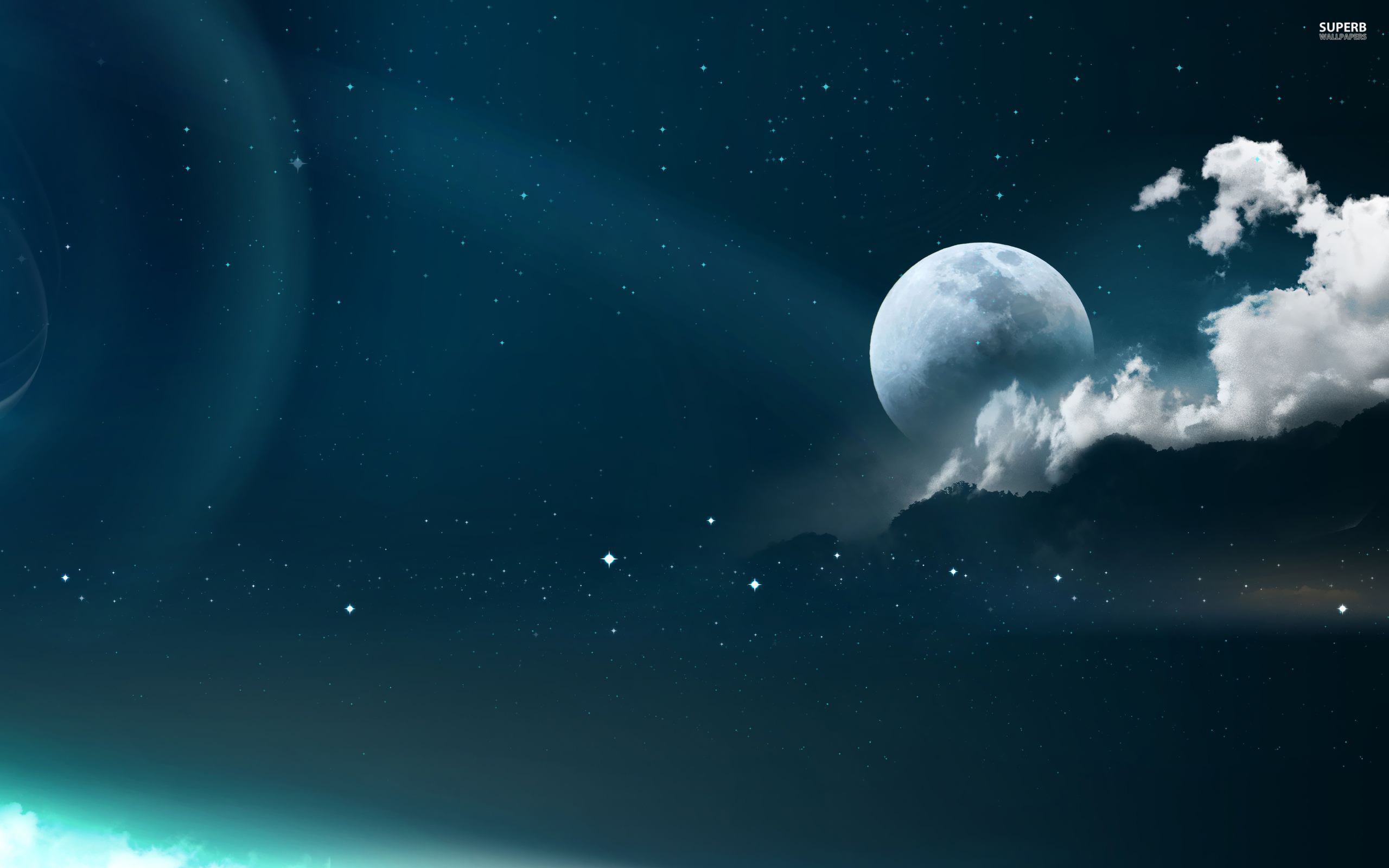 Full Moon Wallpaper Space Wallpapers