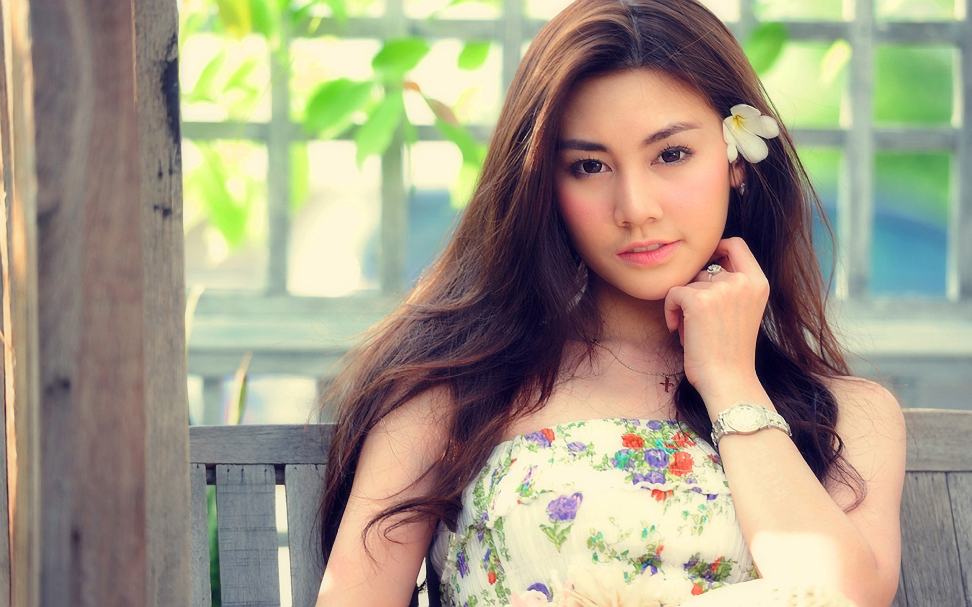 Beautiful Girl Asian Photo