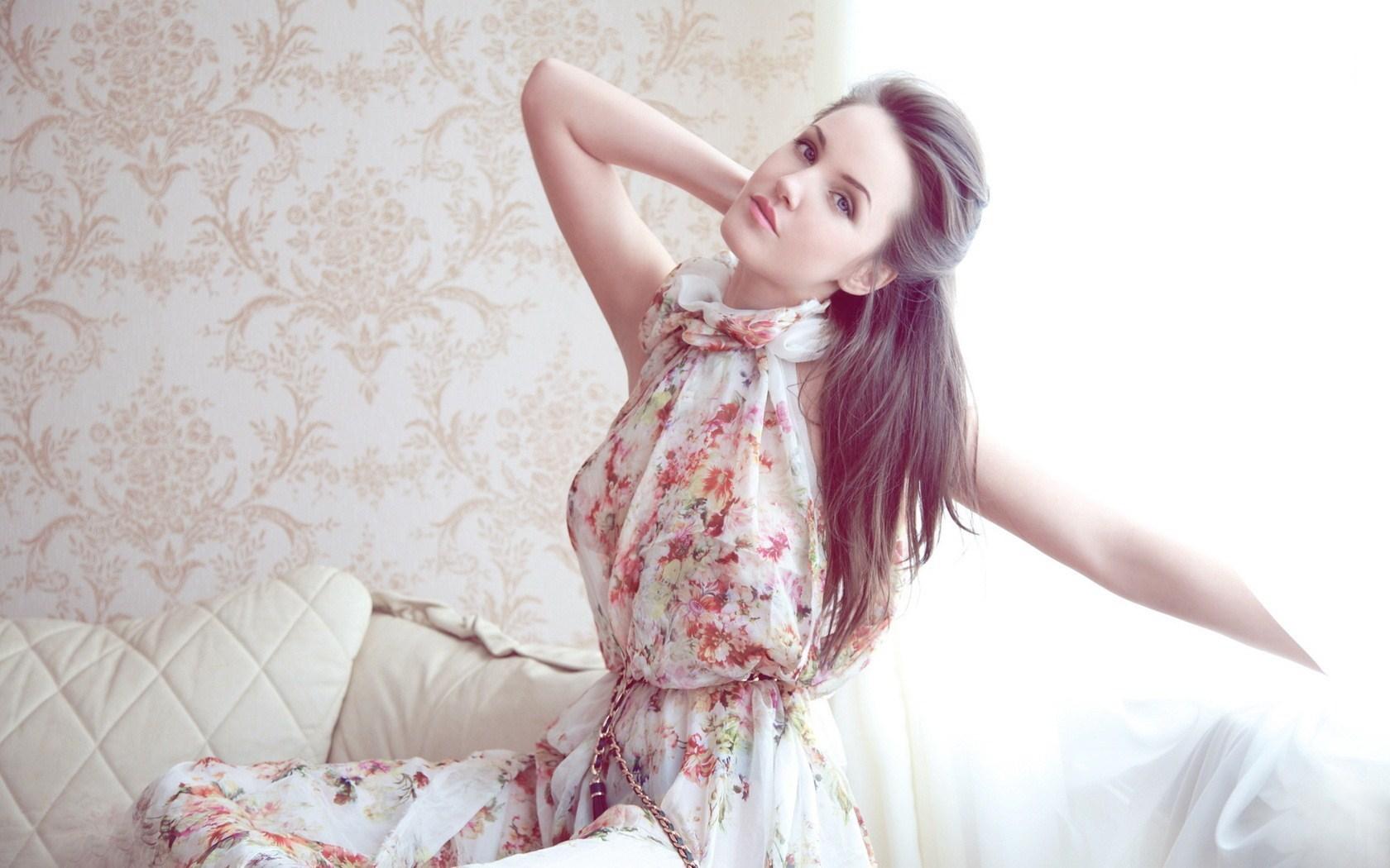 Beautiful Girl Dress Fashion Photo