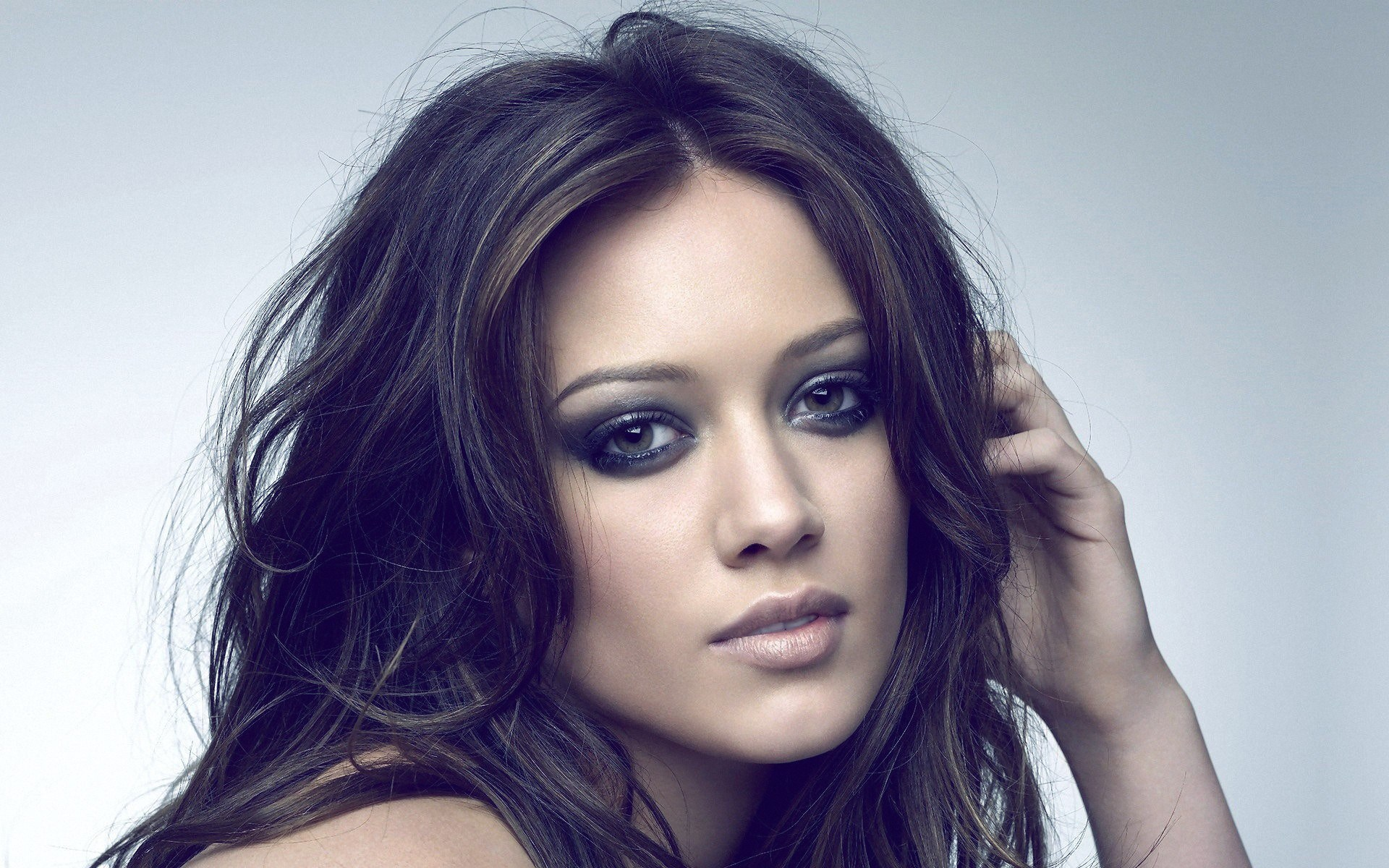 Beautiful Girl Hilary Duff Actress Portrait