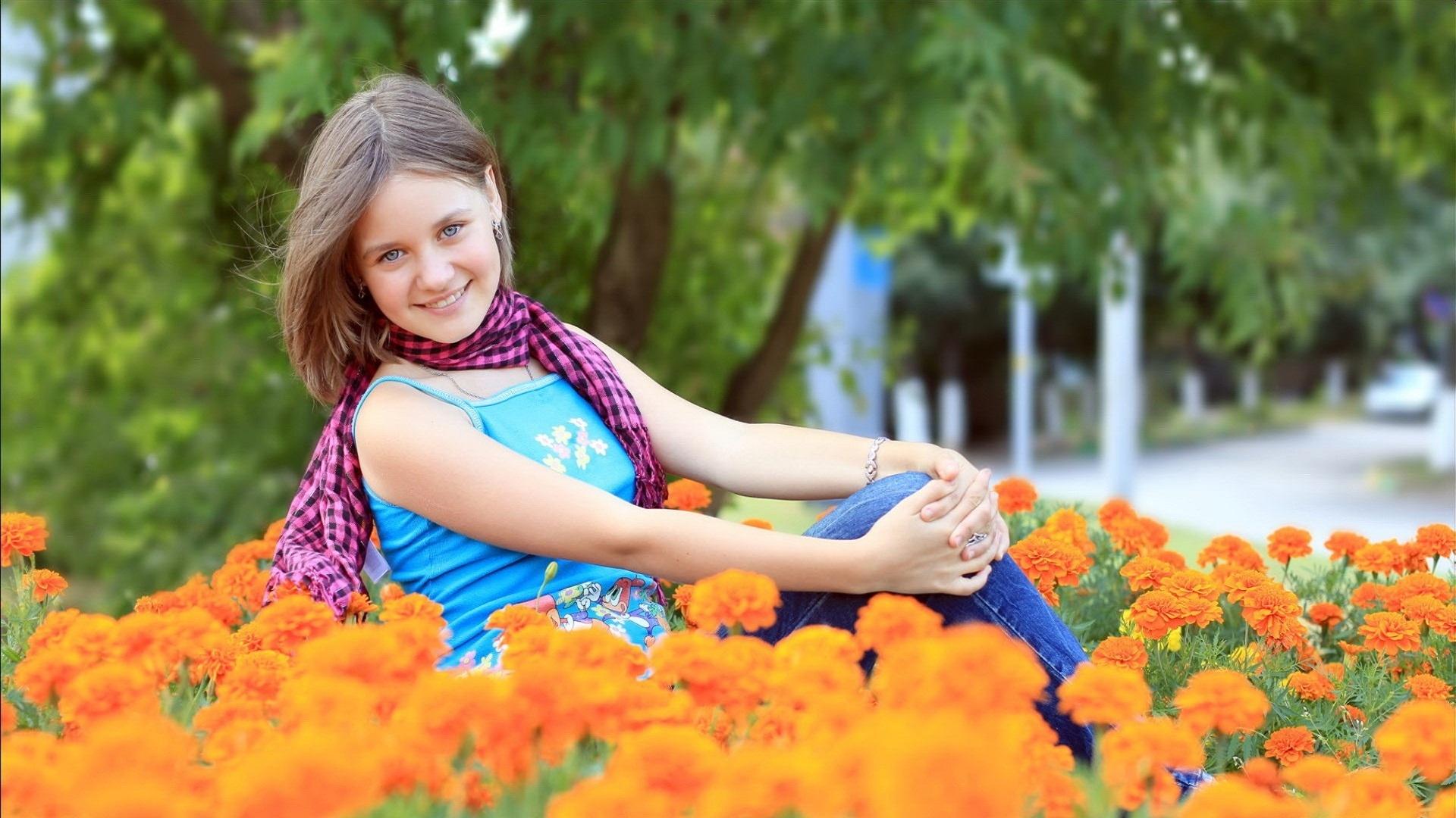 Beautiful Girl Photo Mood
