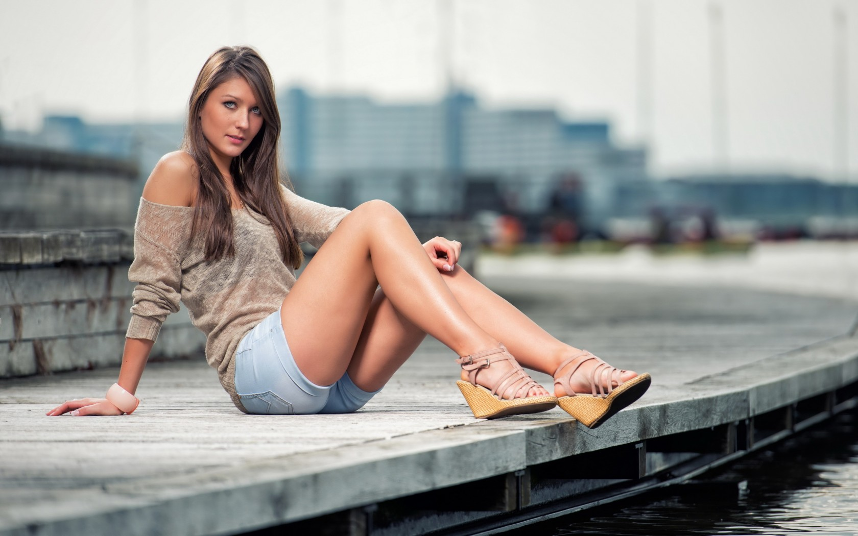 Beautiful Girl Shorts Fashion