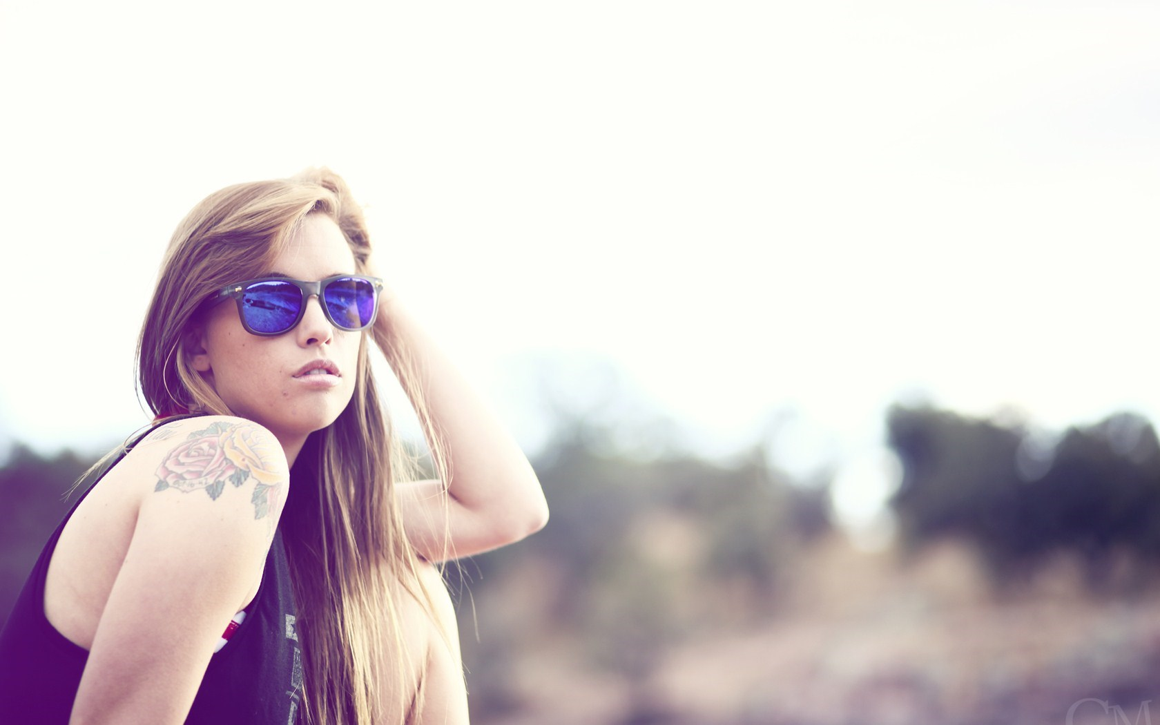 Beautiful Girl Sunglasses TeraVena Photography