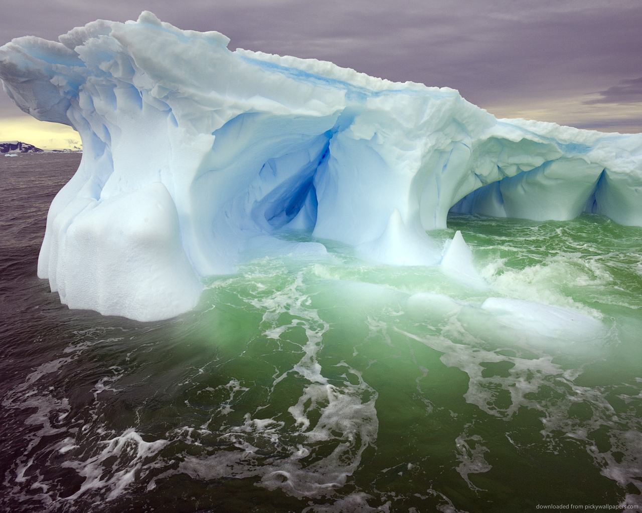 ... Beautiful Glacier for 1280x1024