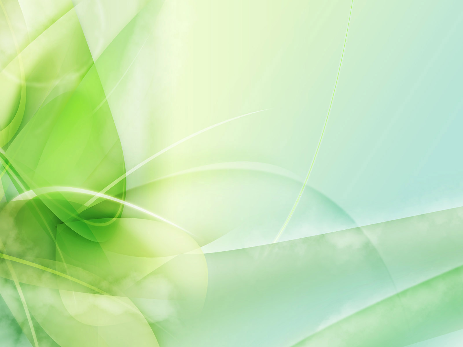 Green abstract picture for your Windows desktop PC with bright light and lines and stripes on