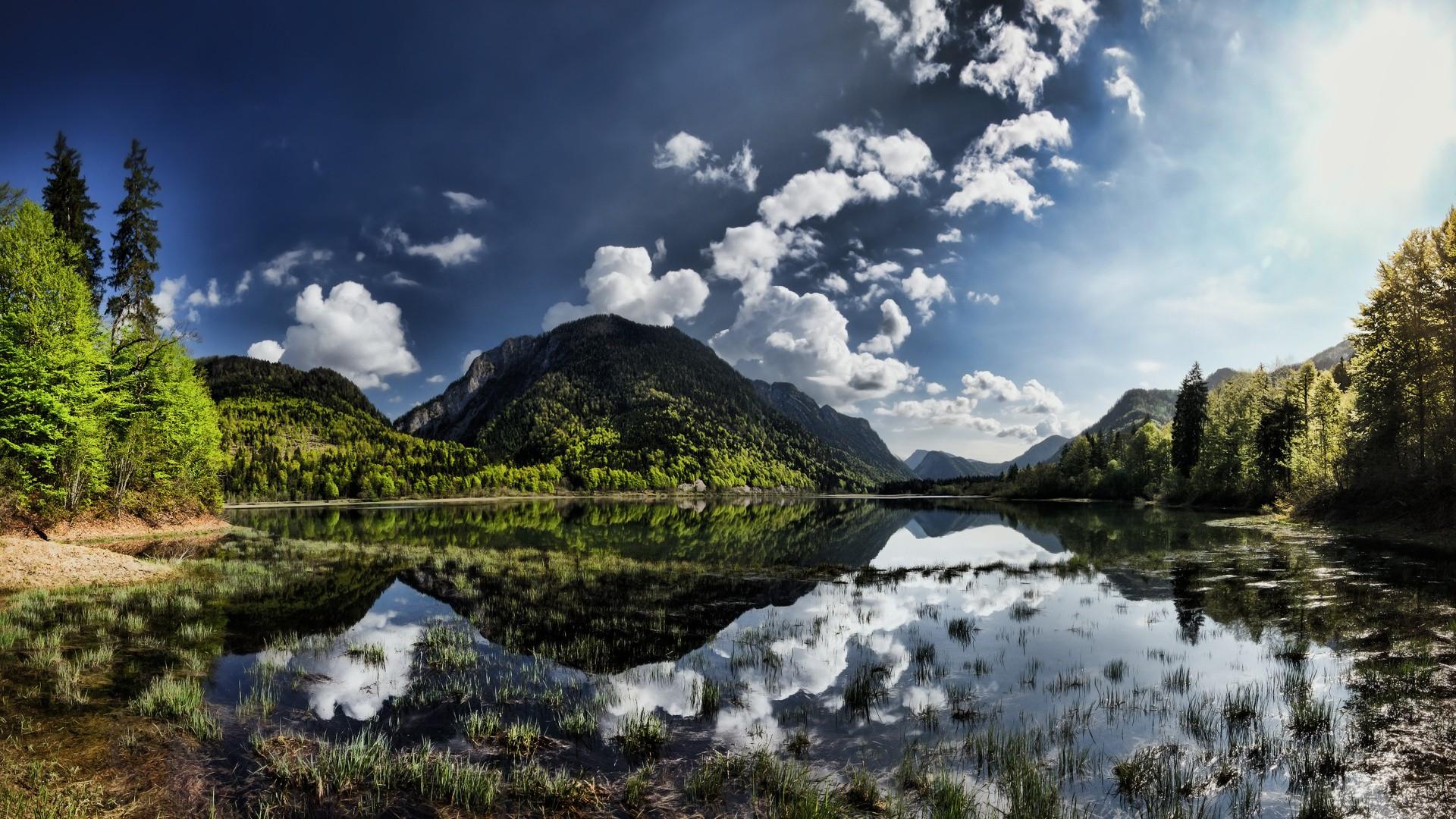 Beautiful HDR Nature Wallpaper