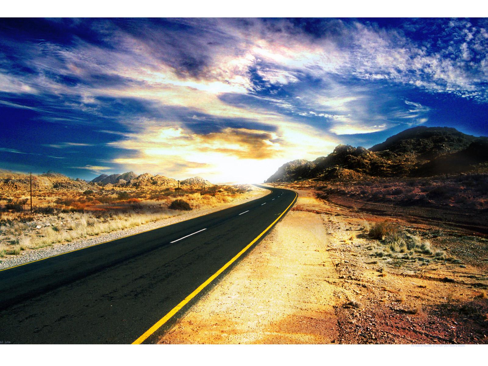 Beautiful Highway Wallpaper