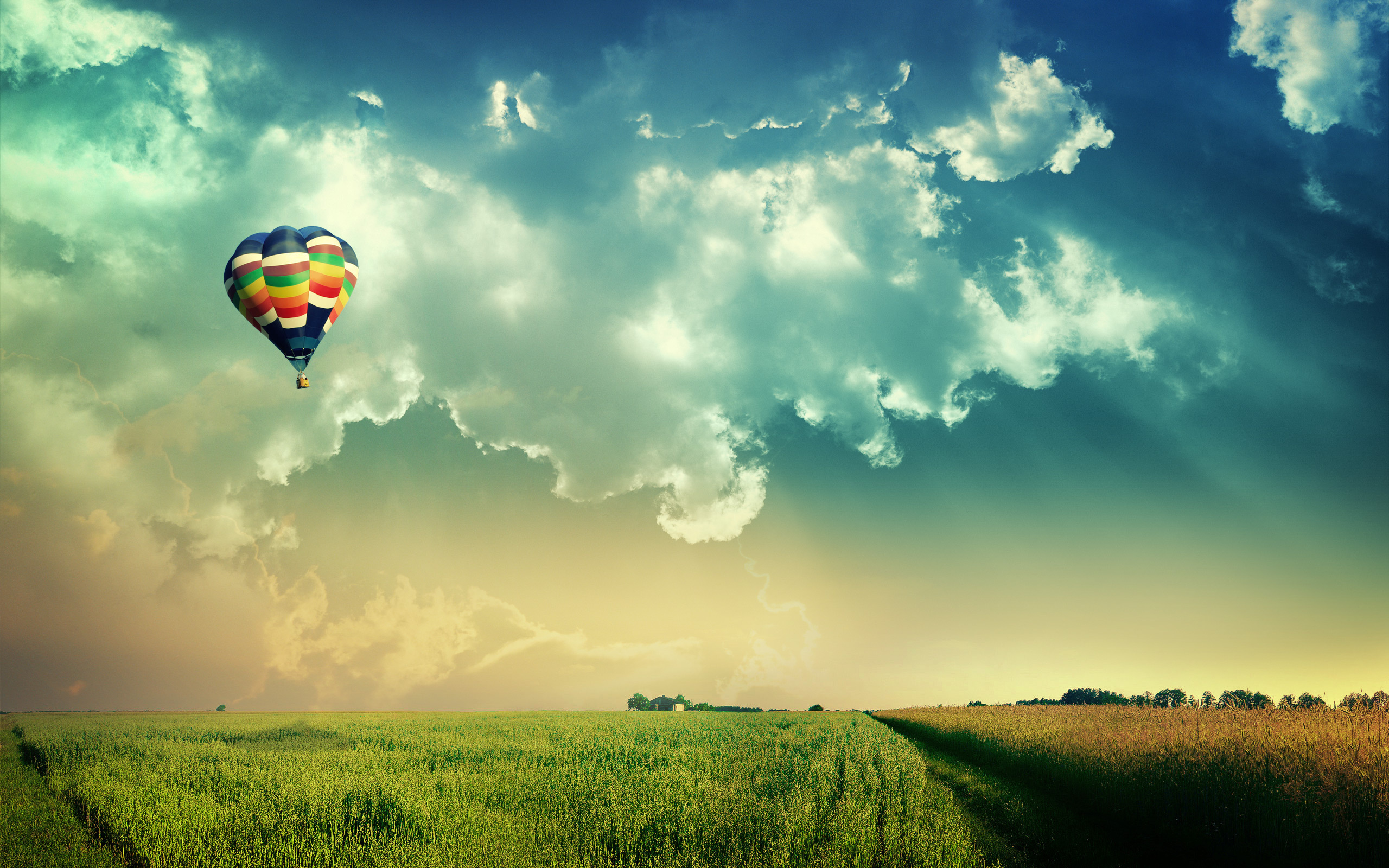 Beautiful Places hot air balloon