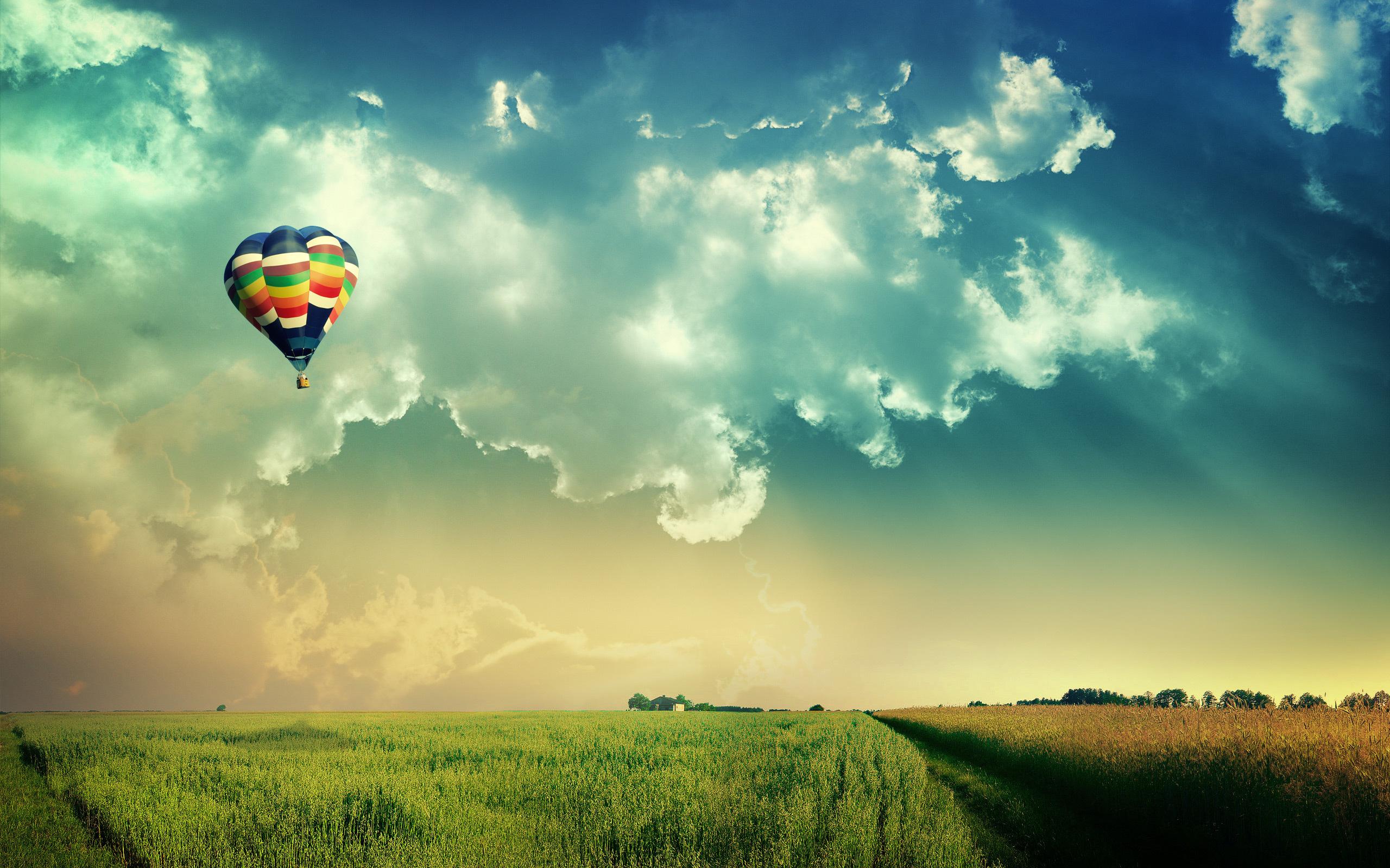 Beautiful Hot Air Balloon Wallpaper