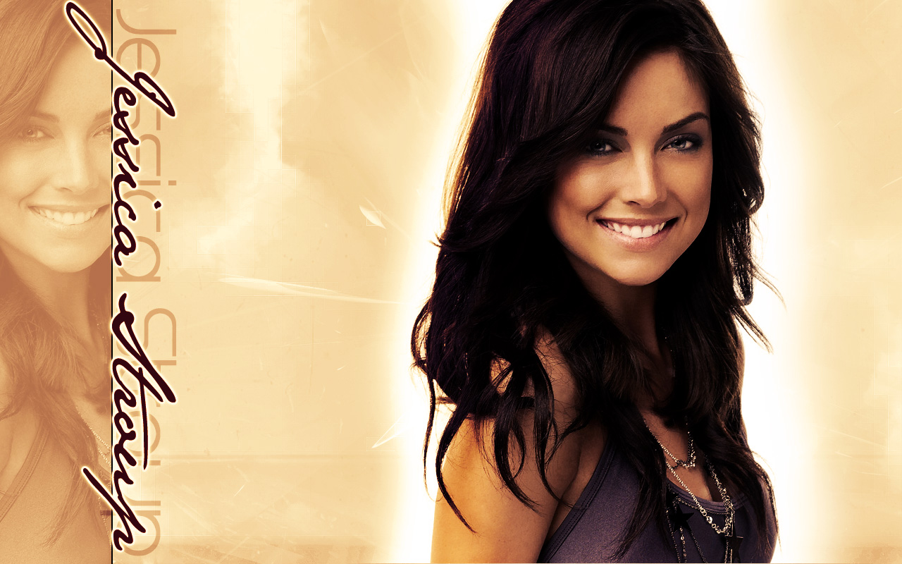 Beautiful Jessica Stroup Wallpaper