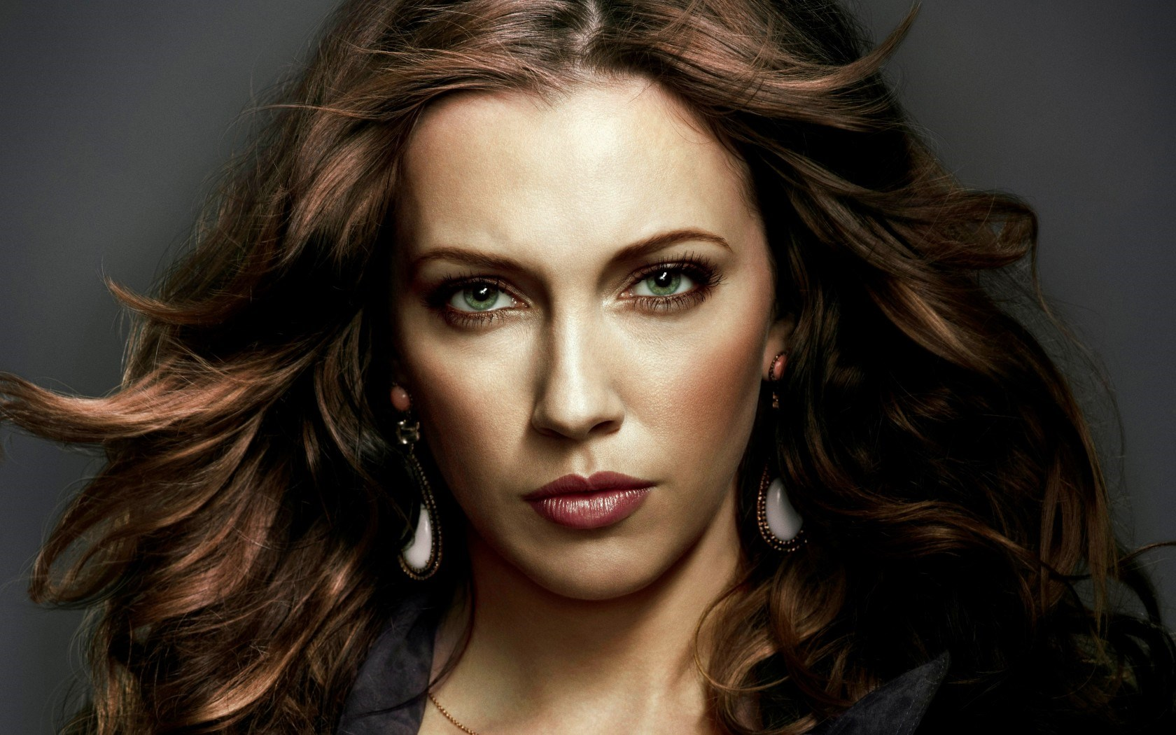 Green Beautiful Eyes Katie Cassidy Actress HD Wallpaper