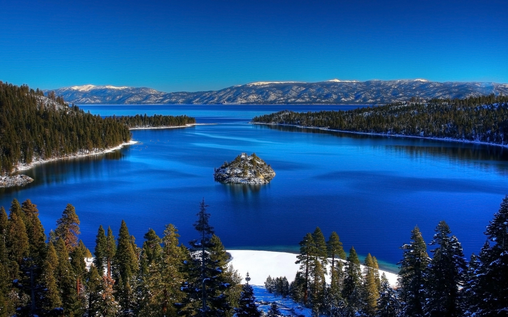 Beautiful Lake Tahoe Wallpaper