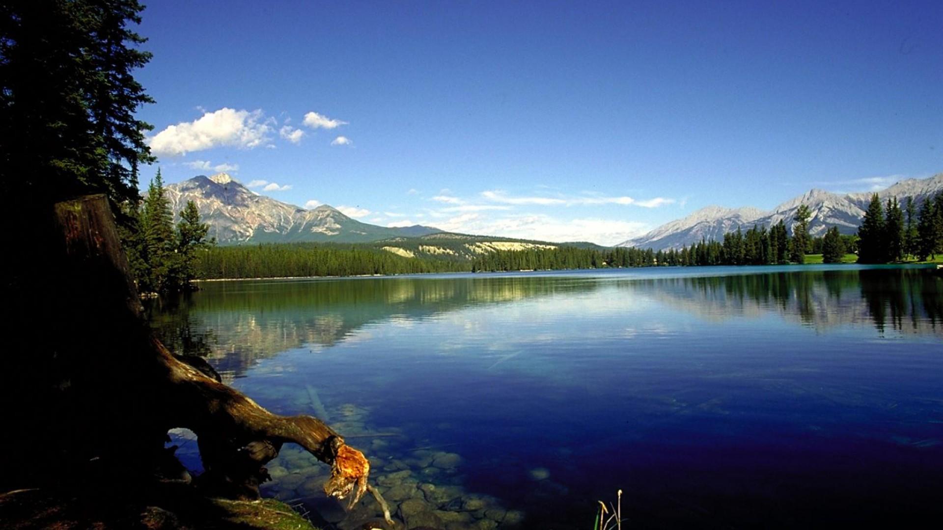 Nice Lake Image Nature Wallpaper