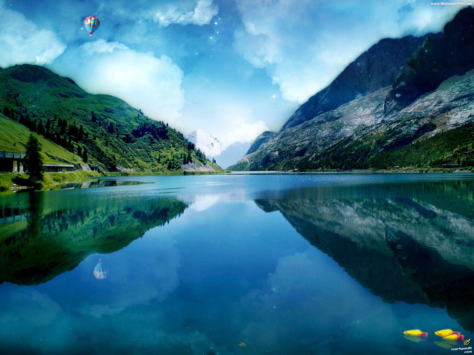 Beautiful Lake Wallpaper Viewing Gallery 1600x1200px