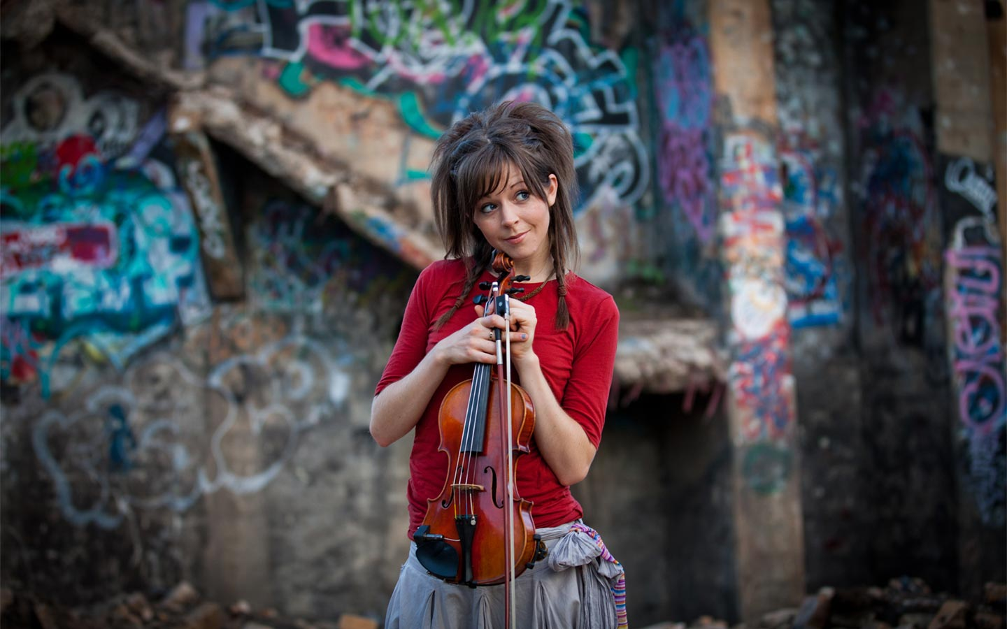 Beautiful Lindsey Stirling Wallpaper