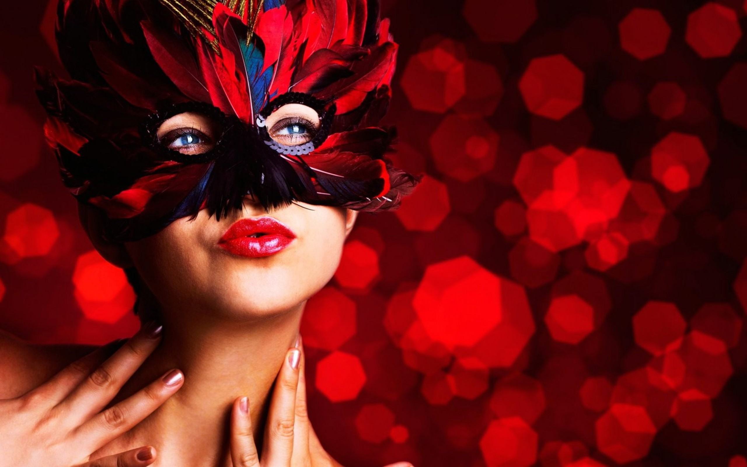 Beautiful Masquerade Mask Wallpaper