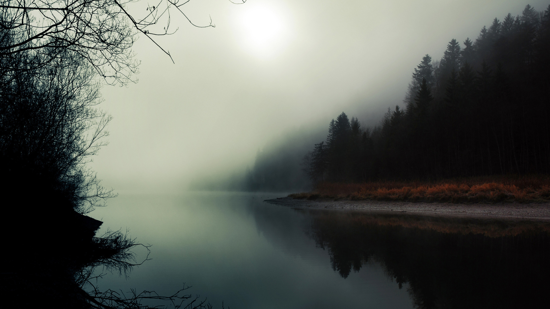 misty fog landscape wallpapers - photo #16