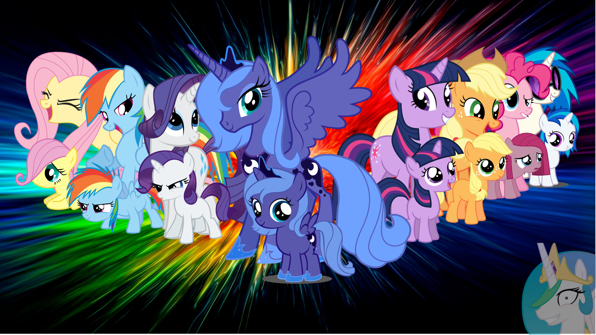 Beautiful My Little Pony Wallpaper