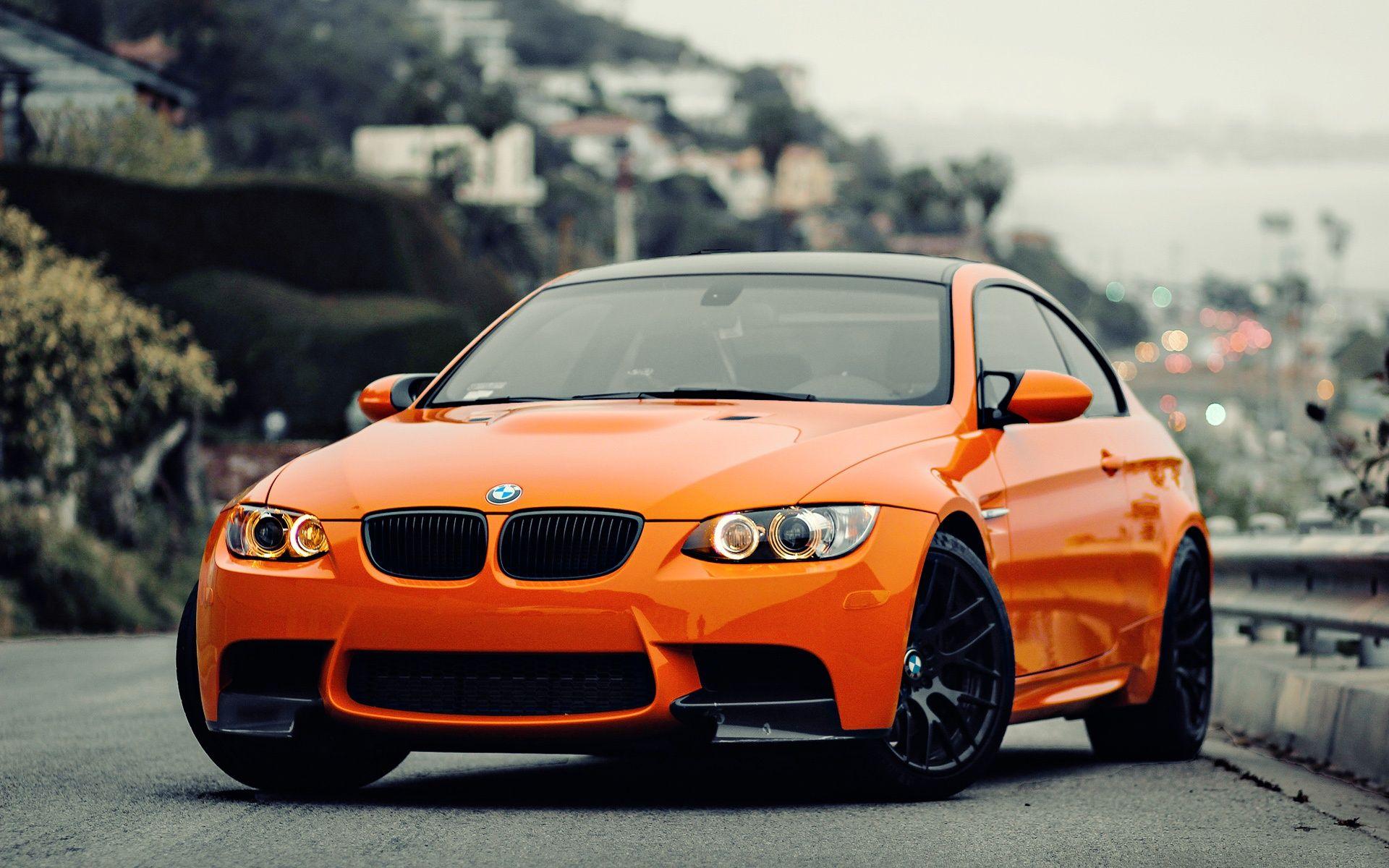 Beautiful Orange Car Wallpaper