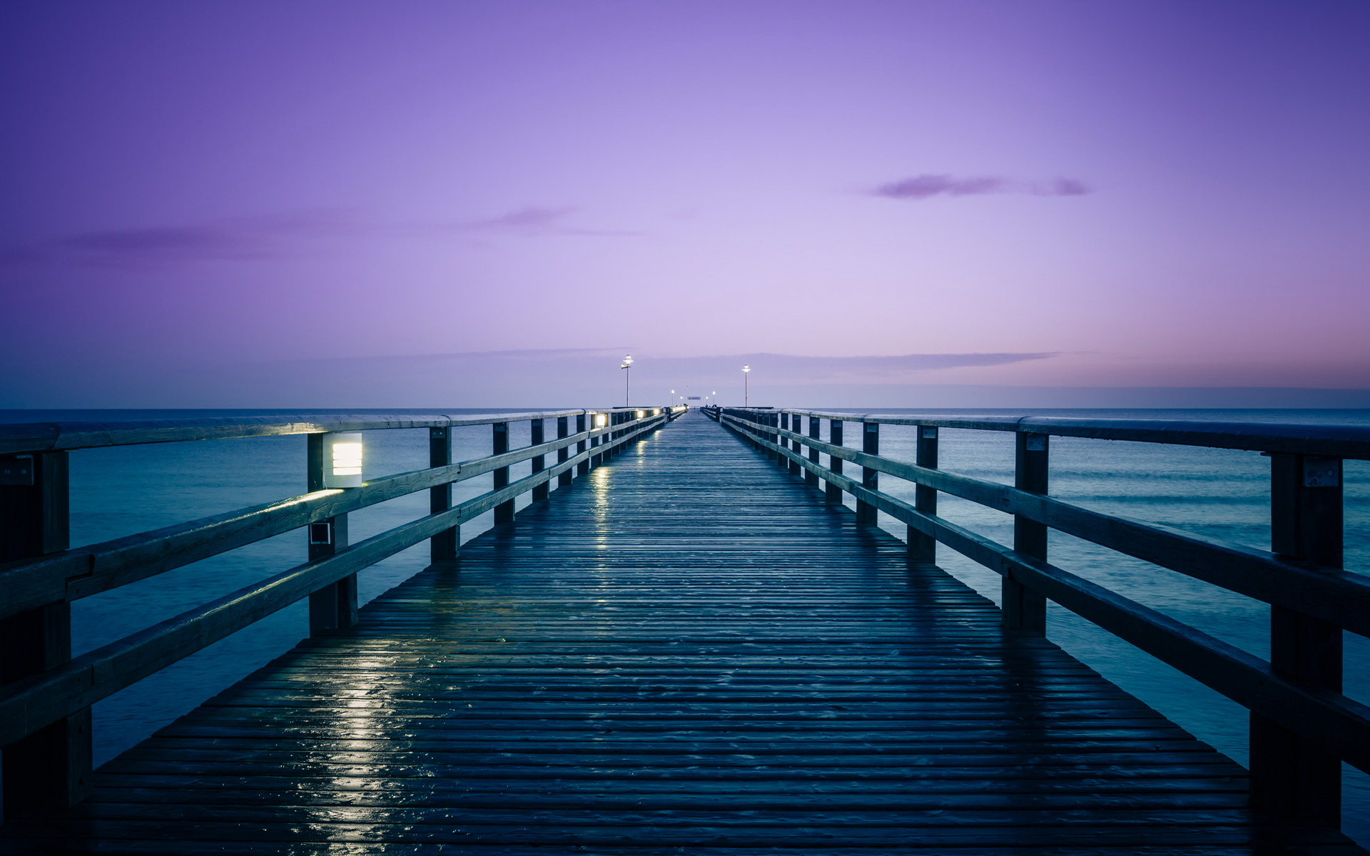 Beautiful Pier Wallpaper