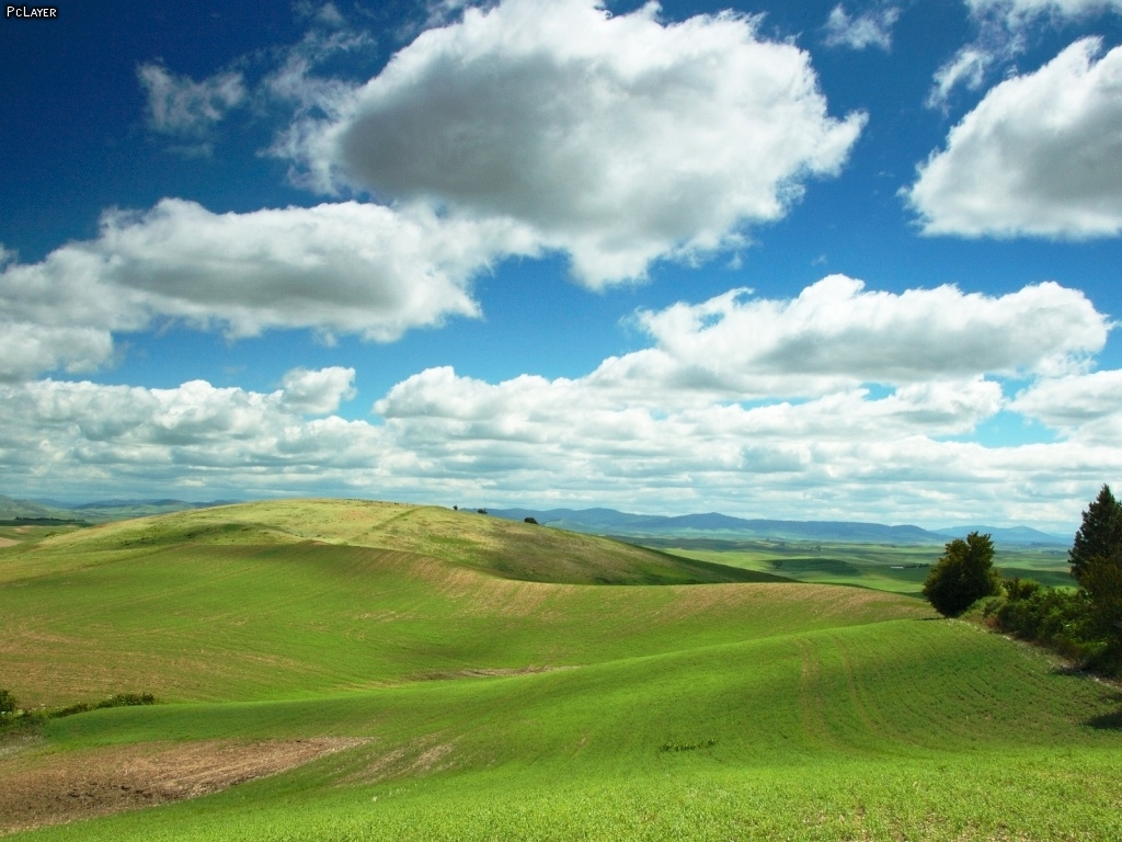 Beautiful Plains Wallpaper