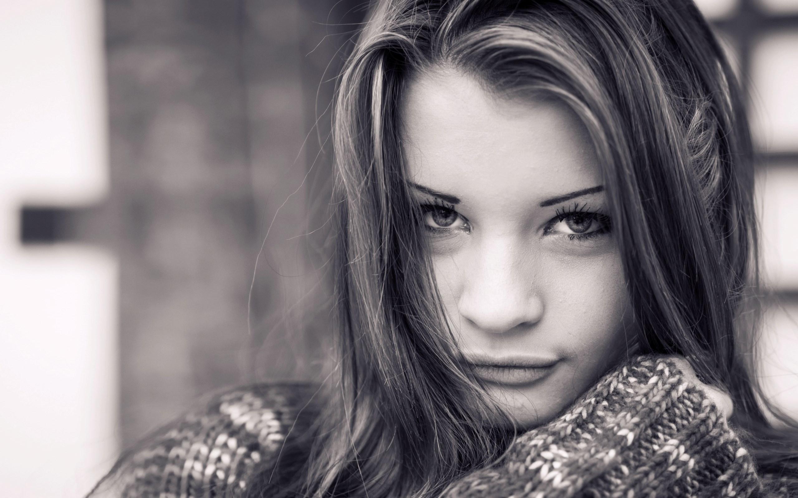 Beautiful Portrait Girl Photo