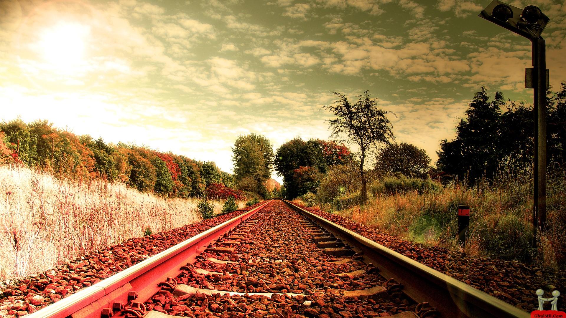 Beautiful Railway Wallpaper 7044