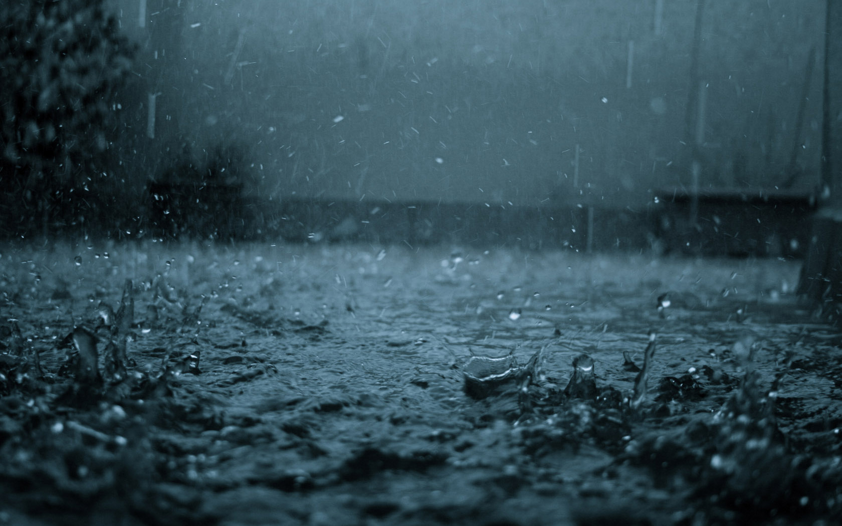 Beautiful Raindrops Wallpaper