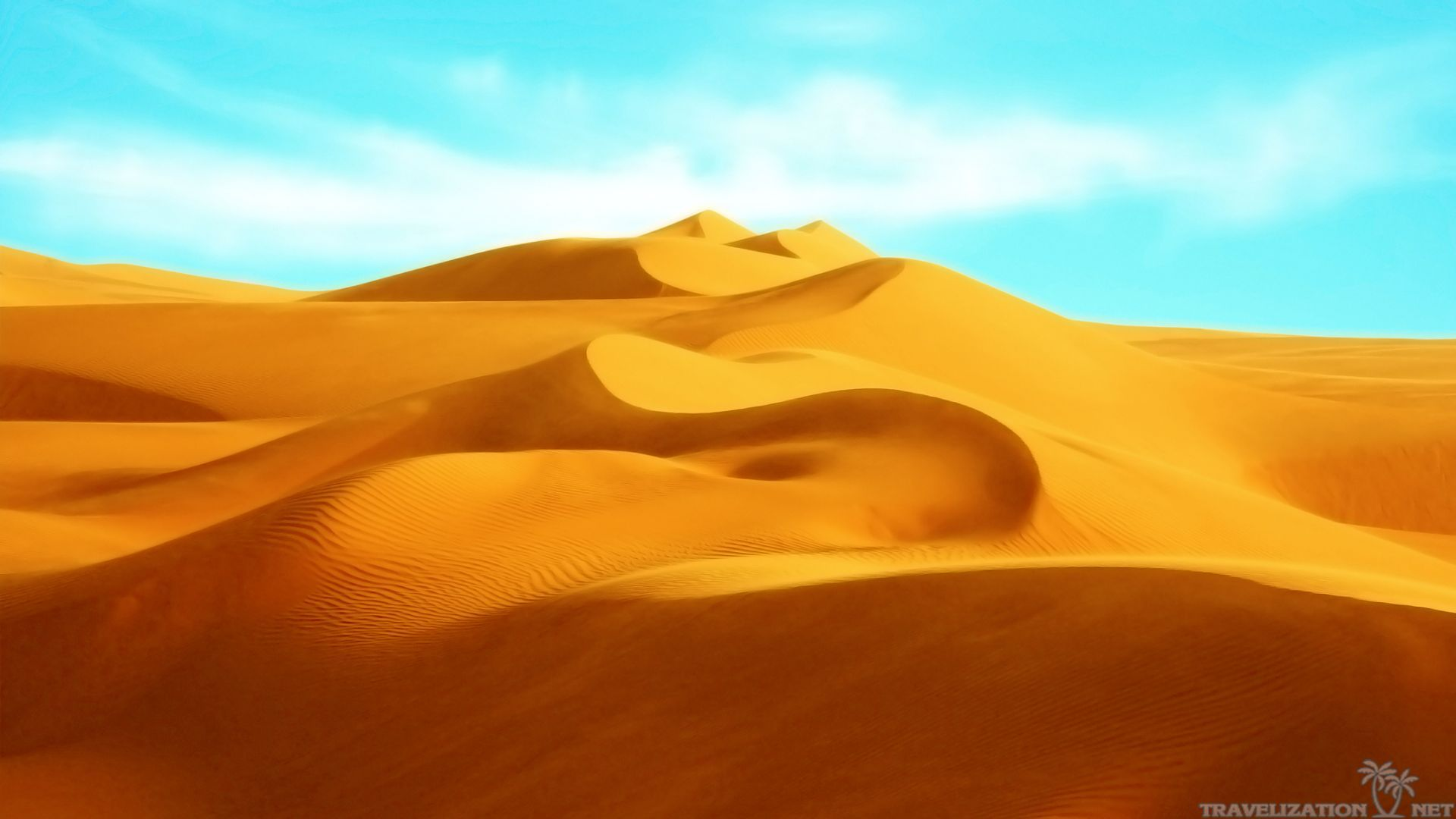 Beautiful Sahara Desert