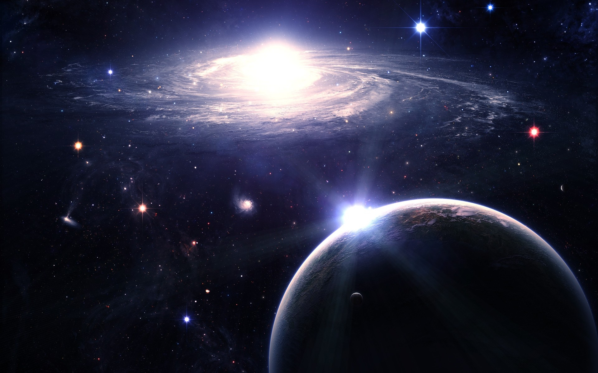 Beautiful Space wallpaper | 1920x1200 | #34400