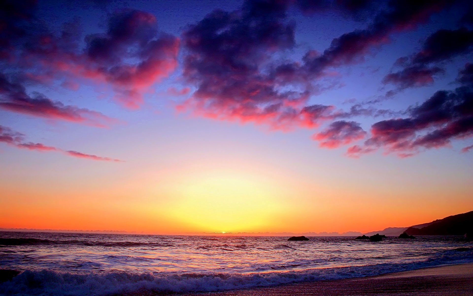 Colorful Sunset Twilight Wallpapers Hd