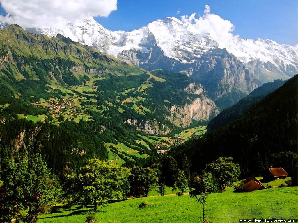 Beautiful Mountains, Switzerland