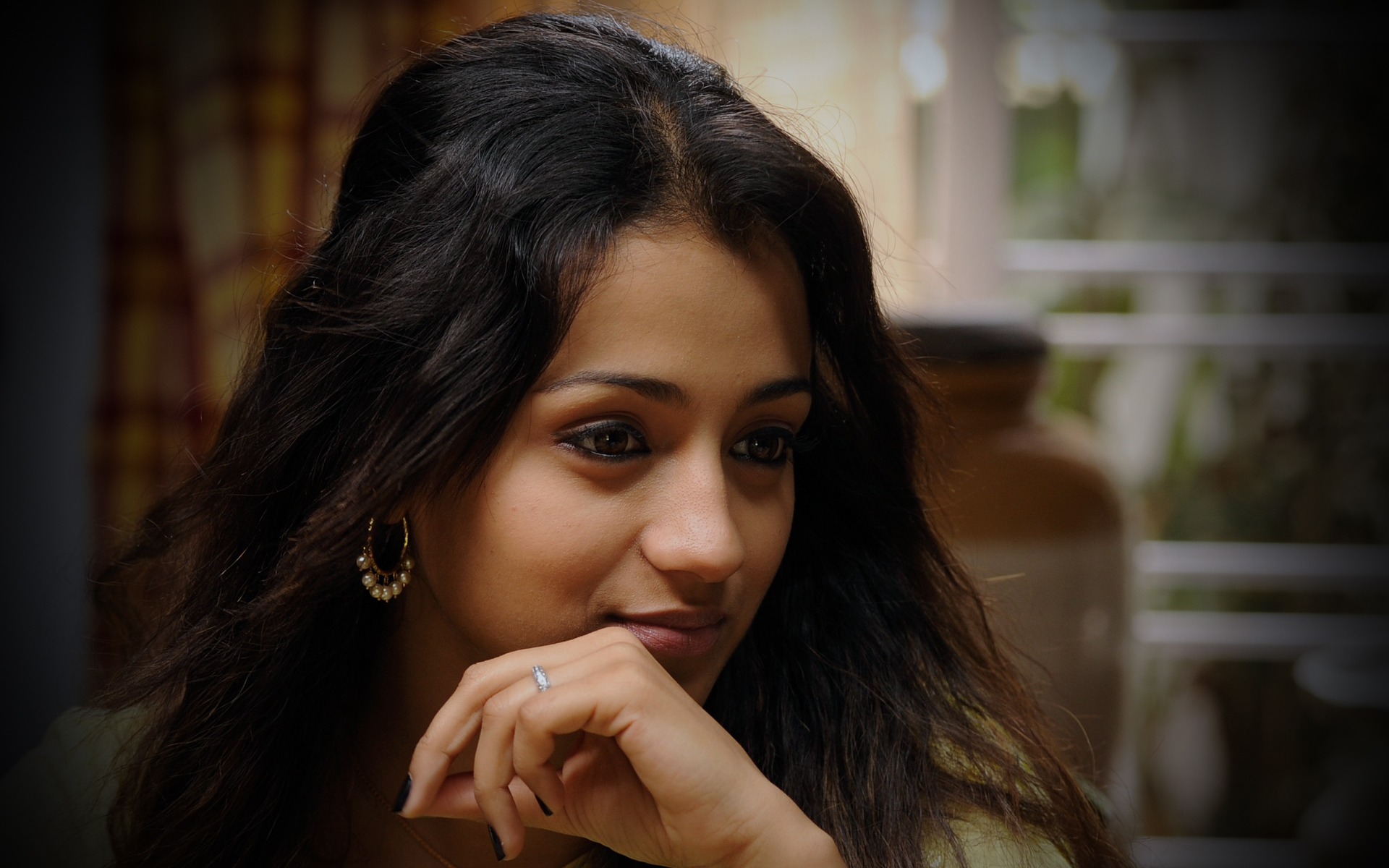 Trisha krishnan wallpapers trisha krishnan wallpaper 1 - Beautiful Trisha Krishnan
