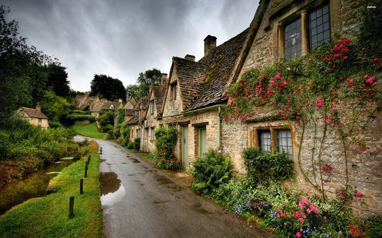 Beautiful Village Wallpaper