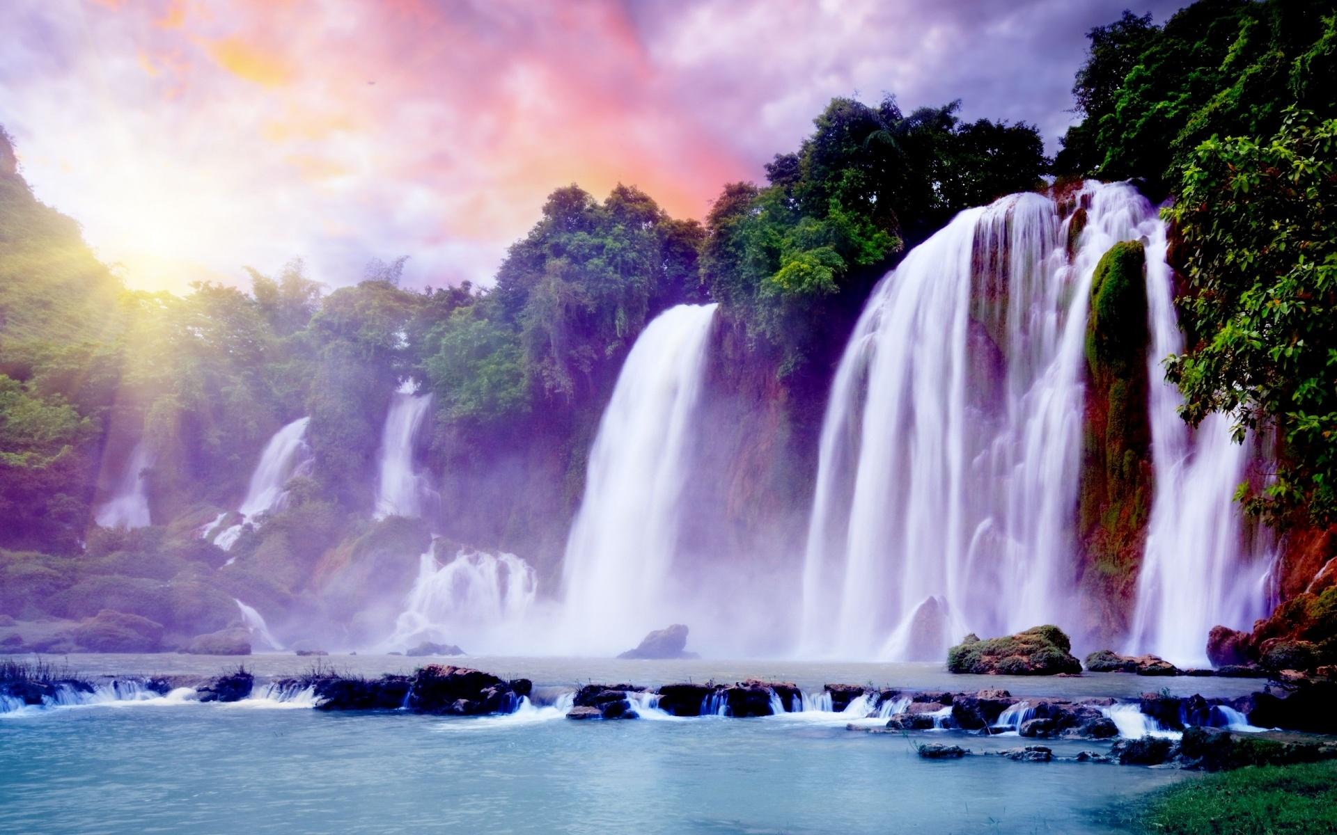 Nice and Beautiful Waterfall