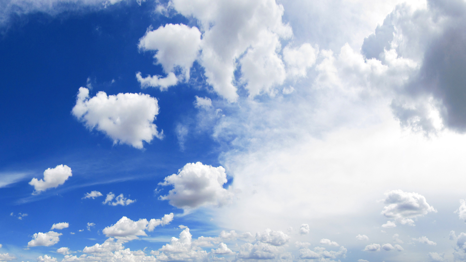 Beautiful White Clouds Wallpaper