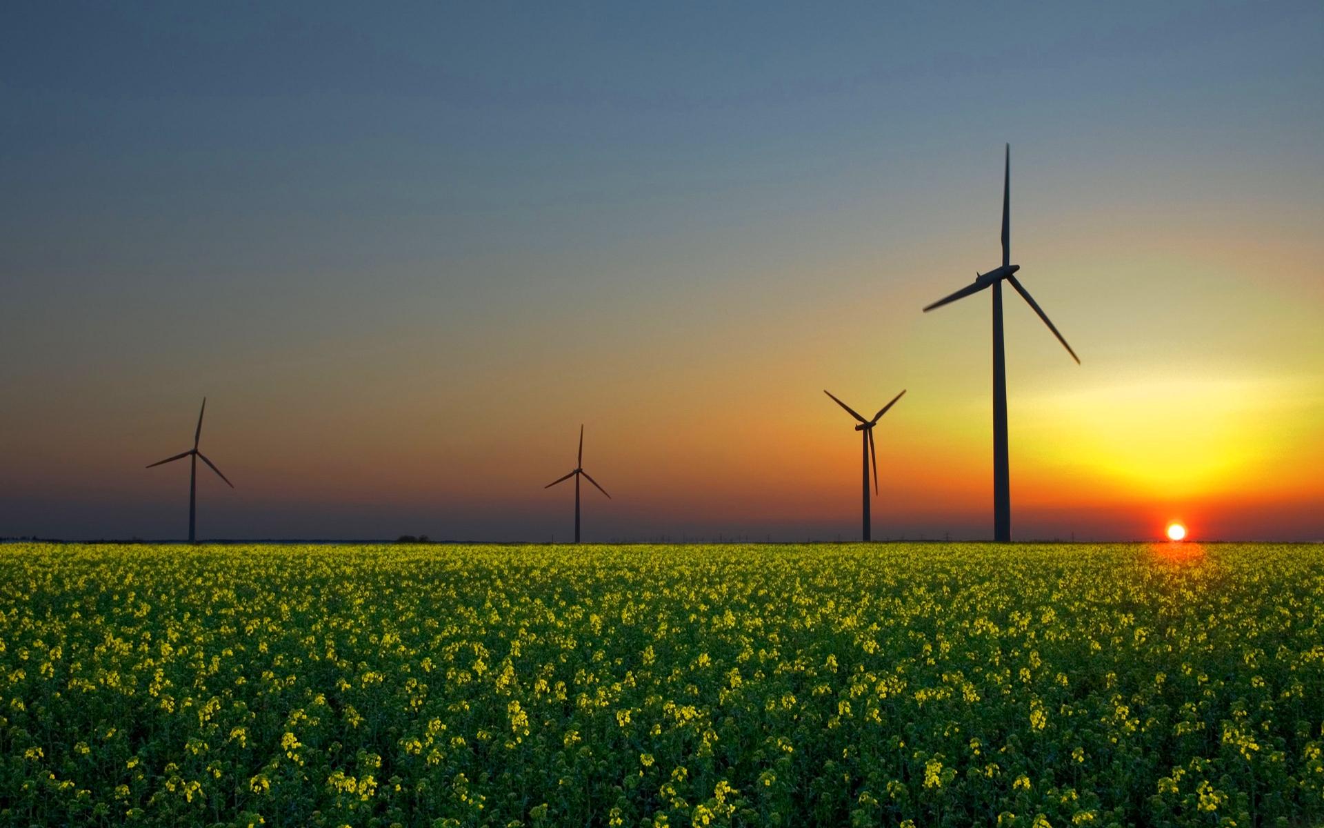 Beautiful Windmill Wallpaper