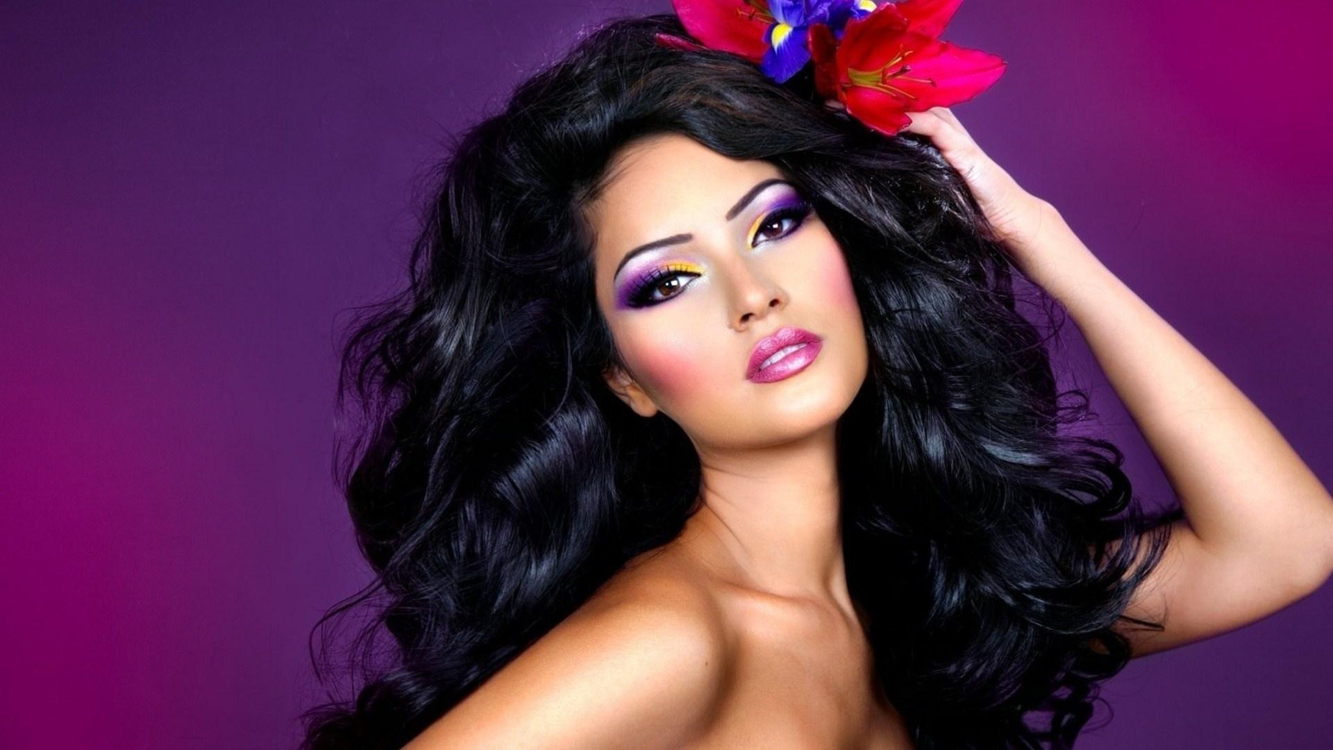 Beauty Brunette Lady