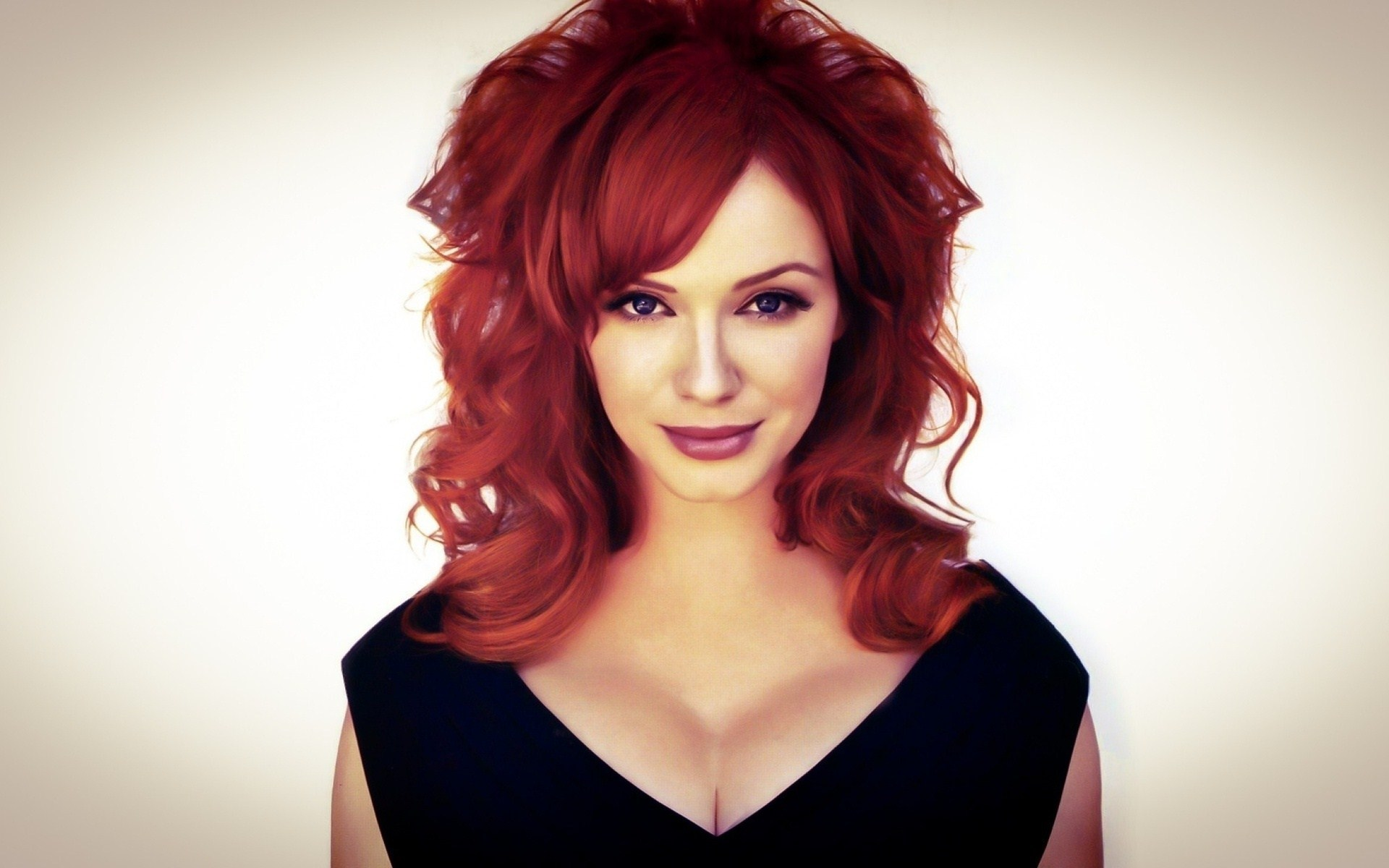 Beauty Redhead Christina Hendricks American Actress