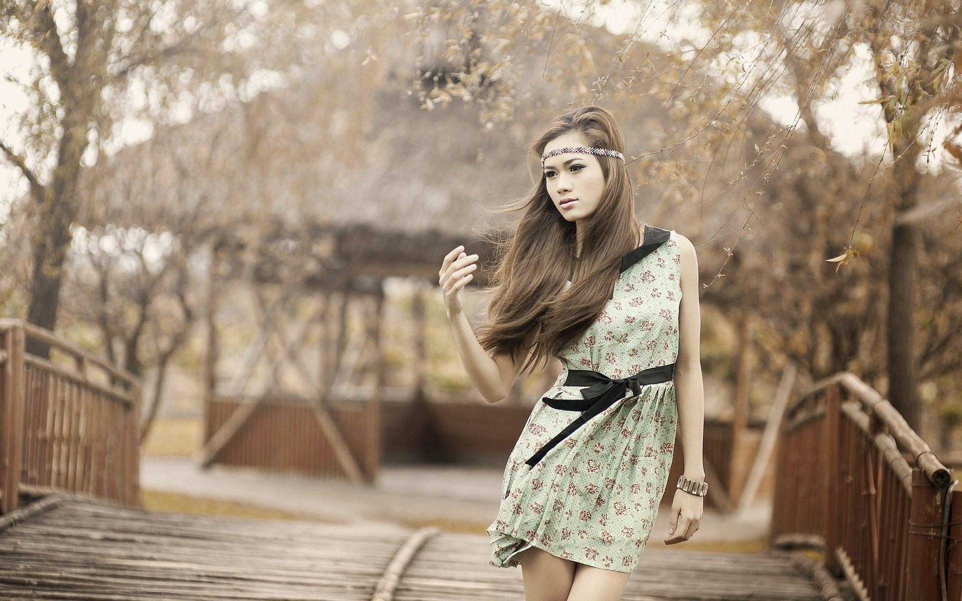 Beauty Vietnamese Model Girl Photo