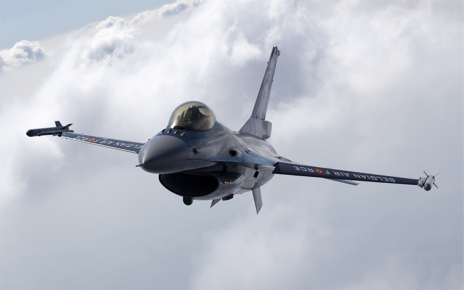Belgian F16 Wallpaper in 1920x1200 Widescreen